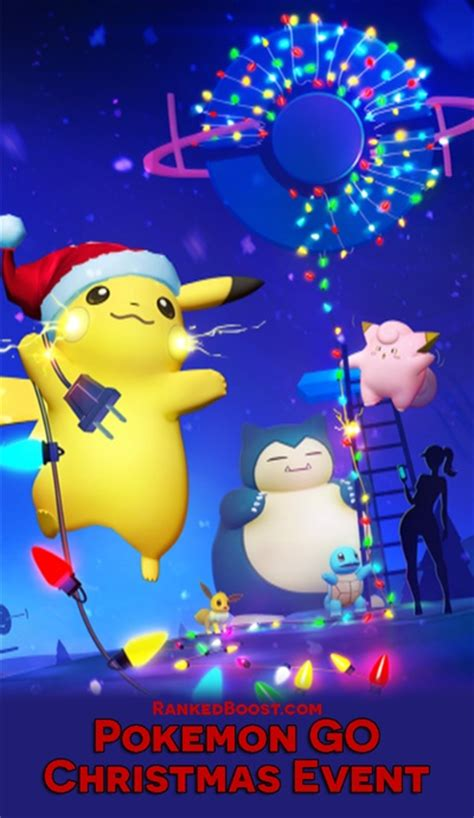 Pokemon Go Christmas Event Guide • New Years Item Pack Gift Boxes