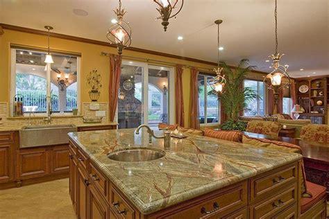 green subway tile kitchen backsplash beautiful kitchen islands with bench seating designing idea