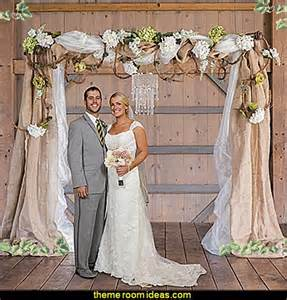 shabby chic wedding arch ideas decorating theme bedrooms maries manor rustic style