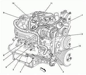 2001 Chevy S10 Engine Diagram