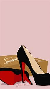 Louboutin Fashion Chic iPhone Wallpaper Lock Screen ...