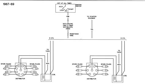 1969 Chevelle Ignition Wire Diagram Distributor To Coil A To In by 1968 Firebird Camaro Ignition Wiring Diagram