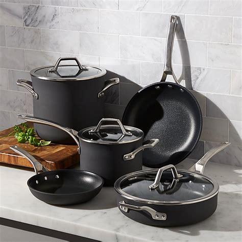 Calphalon Kitchen Essentials Non Stick Cookware by Calphalon Signature Non Stick 8 Cookware Set With