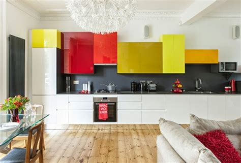 Best Color For Kitchen Cabinets 2015 by 15 Modern Kitchen Design Ideas In Bright Color Combinations