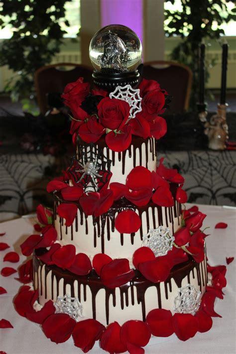 picture  original halloween wedding cakes