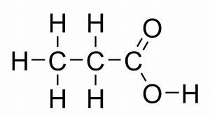 draw the structure of propanoic acid - 9849611 ...