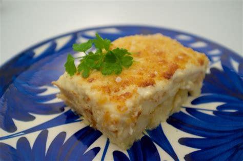 cuisiner la morue à la portugaise bacalhau com natas morue aux pommes de terre à la