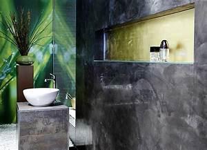 Wasserfeste Wandverkleidung Bad : putz im bad ein neuer badgestaltungs trend my lovely ~ Lizthompson.info Haus und Dekorationen