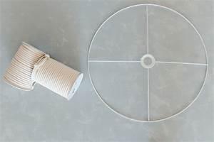 Lampe Mit Batterie Ikea : diy makramee lampe ikea hack mit lampenschirm ~ Orissabook.com Haus und Dekorationen