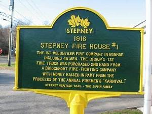 Stepney Fire House #1 Historical Marker