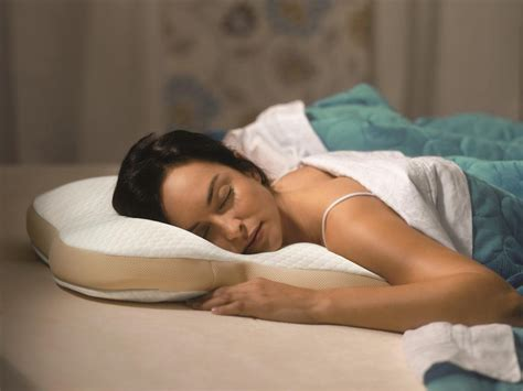 pillow for stomach sleepers tempur pedic pillow ombracio for stomach sleepers