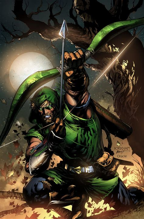 Comics Forever, Green Arrow  Pencils By Tyler Kirkham
