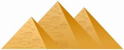 Pyramids Egypt Clipart Clip Pyramid Egyptian Transparent