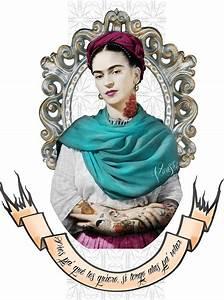 Frida Kahlo Kissen : frida kahlo ilustracion buscar con google mo 39 s frida pinterest ~ One.caynefoto.club Haus und Dekorationen