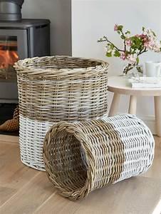 White, Basket, Set