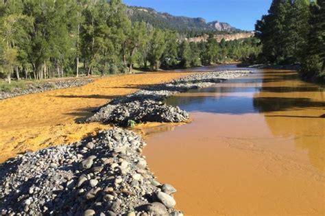navajo nation sues epa  spill  turned animas river