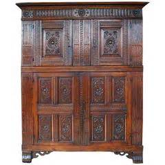 kitchen walnut cabinets belgian furniture 3 468 for at 1stdibs 3468