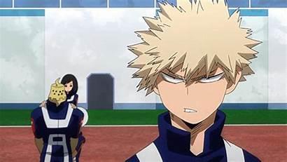 Bakugo Academia Hero Pissed Katsuki Mha Down