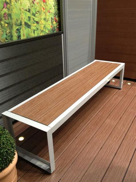 diy bench ideas park wpc composite garden bench slats