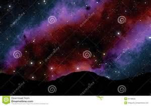 Colorful Night Sky Full of Stars