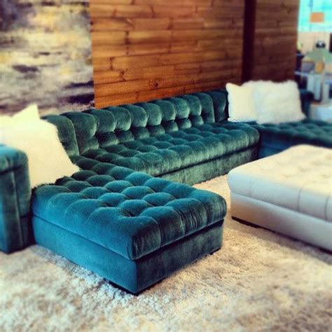 chaise desing 25 best ideas about tufted sectional on