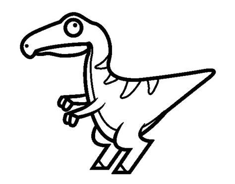 disegni bebe da stare disegno di beb 232 velociraptor da colorare acolore