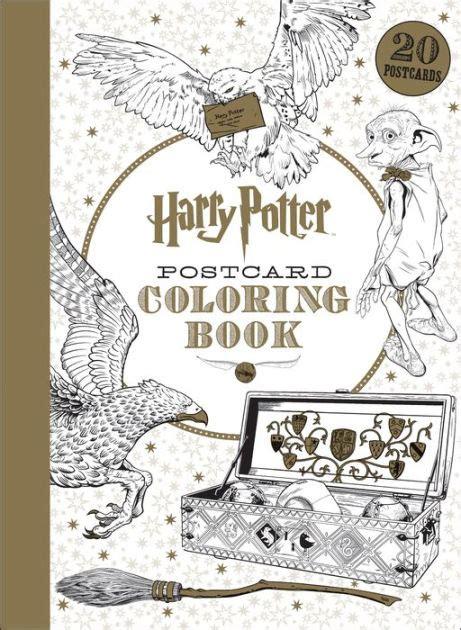 harry potter postcard coloring book  scholastic