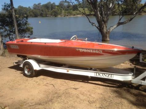 donzi sweet sixteen v8 classic collector ski sports boat