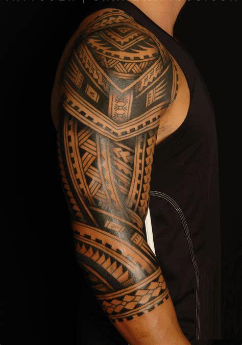 faux tatouage maori tatouage polynesien maori