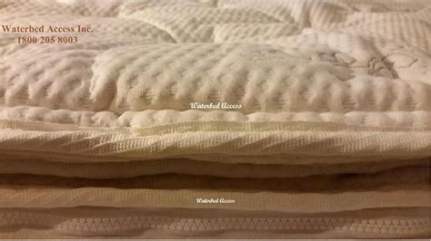 Waterbed Mattress Cover by Cotton Pillowtop Cover For King Queen Double And Twins