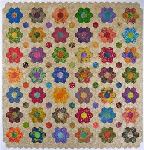 hexagon quilt template the map is not the territory a work in progress paper quilts hexagonal rotation designs