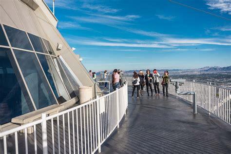 stratosphere observation deck locals stratosphere observation deck semco modern seamless surface
