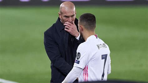 Real Madrid: Zinedine Zidane reflects on Eden Hazard's ...