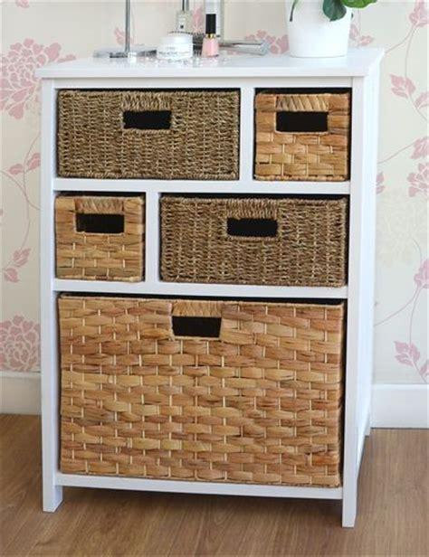 Statement Furniture UK Tetbury white cabinet with 5
