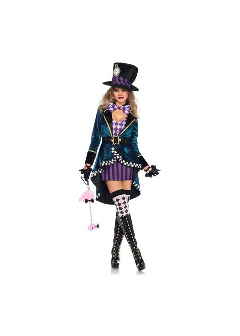 delightful mad hatter women costume  costumes