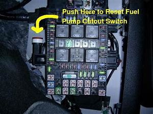 2010 Ford F150 Fuel Pump Relay Location