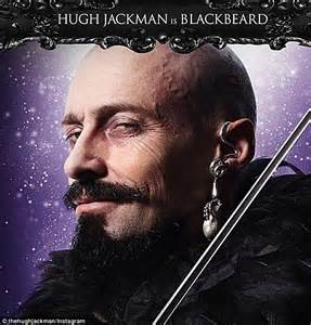 ear cuff online hugh jackman shares photo of his villainous