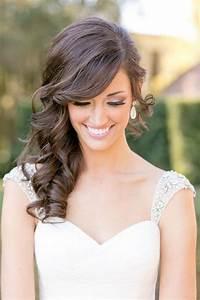 Side Swept Bangs Wedding Hairstyles HairStyles