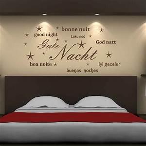 Romantische Bilder Für Schlafzimmer : wandtattoo gute nacht wandtattoos by wandtattoo kiwi ~ Michelbontemps.com Haus und Dekorationen