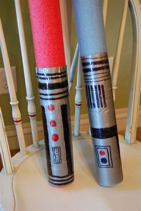 pool noodle lightsaber hugs kisses and snot