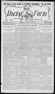 daily racing form n tuesday may 1911 daily racing form free download streaming