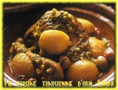 la cuisine tunisienne tajine de poulet aux olives la cuisine tunisienne d 39 oum