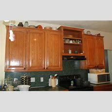 Project Making An Upper Wall Cabinet Taller (kitchen