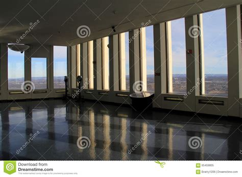Corning Tower Observation Deck by Observation Floor In The Corning Tower Albany New York