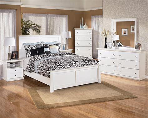 bostwick shoals solid white cottage style bedroom set marjen  chicago chicago discount