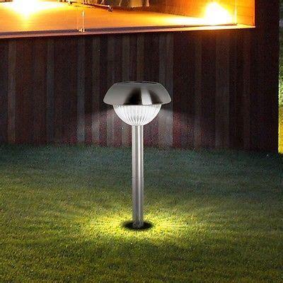 Design Solar Lampe Led Garten Steck Leuchte Aussen