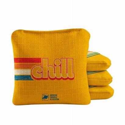 Cornhole Bags Retro Synergy Professional Chill
