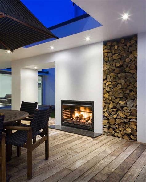 inspirational ideas  storing firewood   home