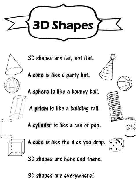 3d shapes worksheets 1st grade worksheets for all