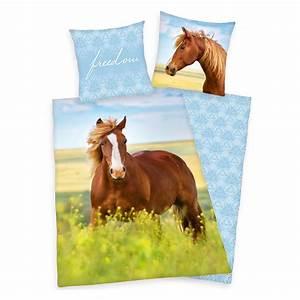 Pferde Bettwäsche Baumwolle : renforc bettw sche pferd freedom bettw sche co loesdau passion pferdesport ~ Markanthonyermac.com Haus und Dekorationen